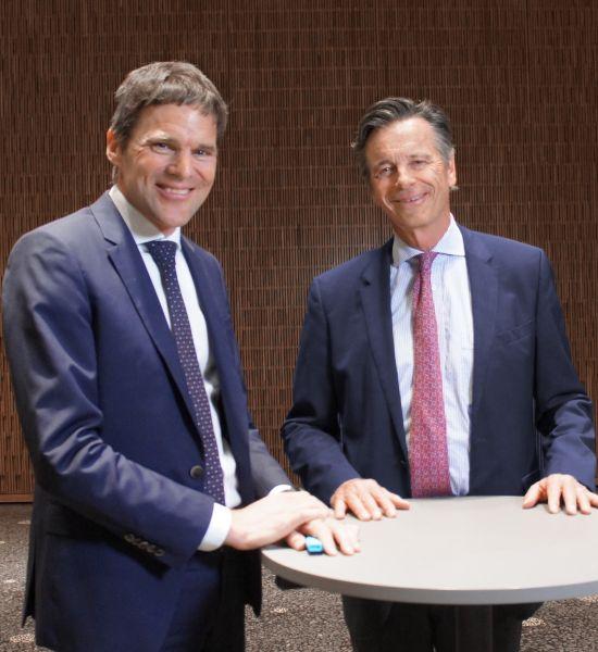 Michael Gysi und Hans Gut